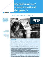 Everyones a Winner Economic Eval Water Projects