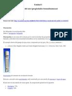 Unidad 3 Psicometria Del Aire (Propiedades Termodinamicas)