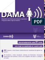 Dispositivo DAMA - Dispositivo de Alerta para Mujeres Agredidas - Tigre Municipio