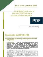 Marcos Normativos Educacion Argentina