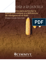 Mejoramiento para aumentar la tolerancia a sequia y a deficiencia de nitrogeno en el maiz