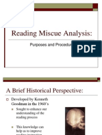 Reading Miscue Analysis (2)