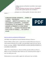 Bufale Che Attraversano Internet, In Particolare Facebook, Ma Non Solo..Basta Il Telefono.