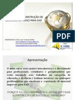 Minicurso ABED 2009
