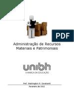 Apostila Administração de Recursos Materiais e Patrimoniais