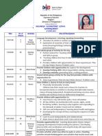 Class Program 2011