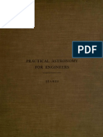 Practical Astronomy for Engineers, Seares