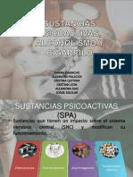 Sustancias Psicoactivas, Alcoholismo y Cigarrilo