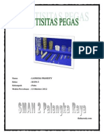 Laporan Pegas (13 Oktober 2012)