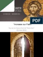 Increase Our Faith!2012