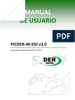 Manual Picder-40 Edi v3.0