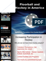 Floorball and Hockey in America