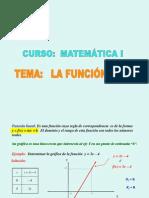 La función lineal (material de Patricia Guillén )