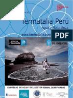 TERMATALIA PERU 'Agua y Naturaleza' Callao 2012