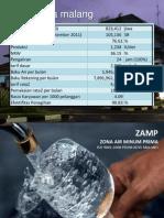 Zona Air Minum Prima (ZAMP) PDAM Kota Malang