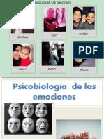 Psicobiología  de las emociones ultimo