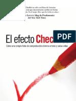El Efecto Checklist_ cA3mo Una Simple Lista de ComprobaciA3n Elimina Errores y Salva Vidas - Gawande, Atul(Author)