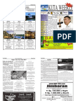 "Kuta Weekly-Edition 306 ""Bali""s Premier Weekly Newspaper"""
