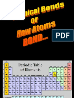 Chemical Bonds!