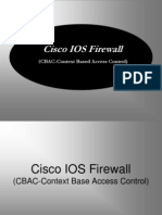 Cisco Firewall CBAC