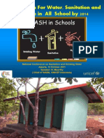 Call To Action For Water, Sanitation and Hygiene in All School by 2014 (WASH in School)