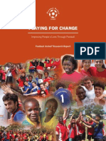 Football United Playing for Change Report