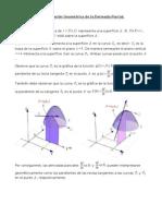 Interpretacion Geometrica de La Derivada Parcial