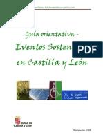 Guía para eventos sostenibles