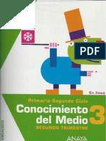 CONOCIMIENTO DEL MEDIO ANAYA 3º 2ºT