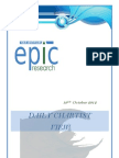 DAILY SPECIAL REPORT BY EPIC RESEARCH- 19 OCTOBER 2012