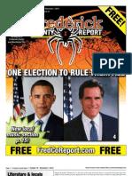 Frederick County Report, October 19 - November 1, 2012