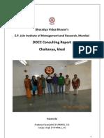 DOCC Chaitanya Consulting Report V0.5