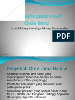 Indonesia Pada Masa Orde Baru XII IPA