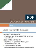 Coolburst Analysis