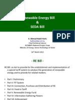 SEDA and RE Bill