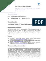 2010 Vamas Twa33 Project3 Mechanical Testing of Polymer Nanocomposites