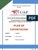 Plan de Exportacion - Empresa