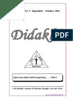 Didakhe - September_October, 2012