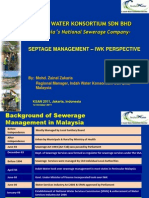 SEPTAGE MANAGEMENT – Indah Water Konsortium (IWK) PERSPECTIVE