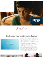 Amelie Trailer Analysis