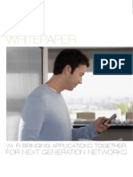 SWP1211-F Wi-Fi Bringing Applications Together for Next Generation Networks