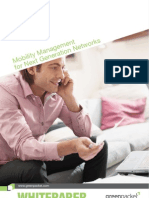 SWP0811 Mobility Management for Next Generation Networks