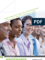 Helpdesk 2.0 How You Can Empower a Paradigm Shift in Customer Care