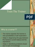 Train the Trainer.