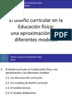 3. Modelos de diseño curricular
