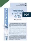 Wiederbelebung der Zivilgesellschaft Der dritte Sektor in Polen 1989–2008