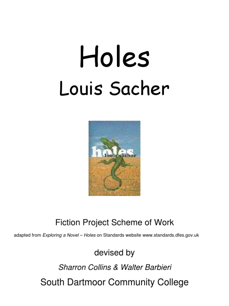 holes narrative sentence linguistics