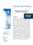 Plan współpracy z Polonią i Polakami za granicą w 2013 roku. Omówienie