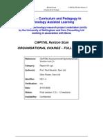 Organisational Change in UK education - Report 1