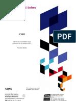 Les Français et la création de l'UDI
